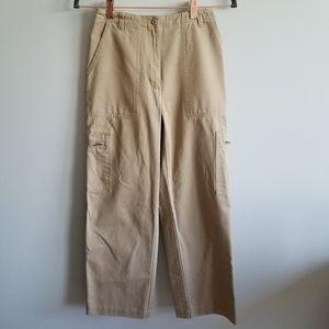 Lauren Ralph Lauren Petite Cargo Khaki Pants
